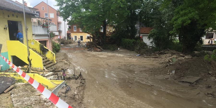 Flutkatastrophe Niederbayern